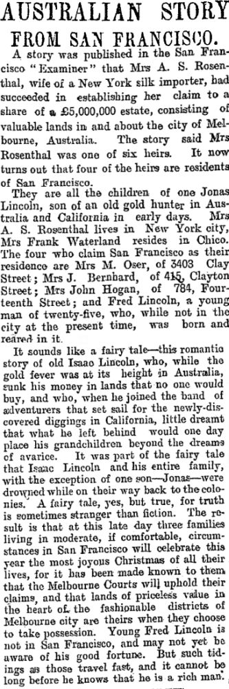 [The Star (NZ) 12 December 1904]
